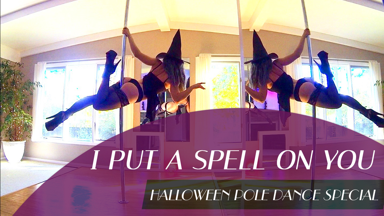 I Put A Spell On You  Halloween Pole Dance  Ava Madison -5486