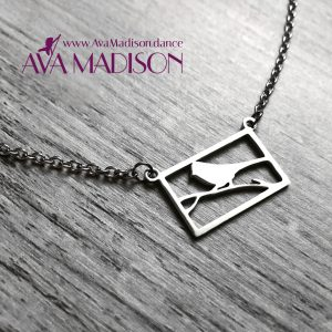 Free Like A Bird : Square Necklace