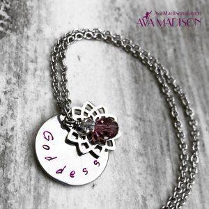 Goddess Flower Of Life Necklace