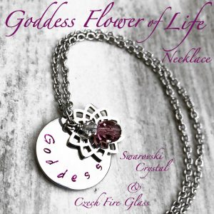 Goddess Flower Of Life Necklace