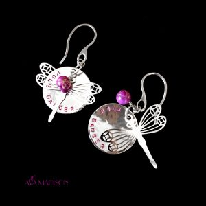 Dragonfly Pole Dancer Earrings