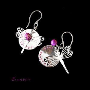 Dragonfly Pole Dancer Earrings