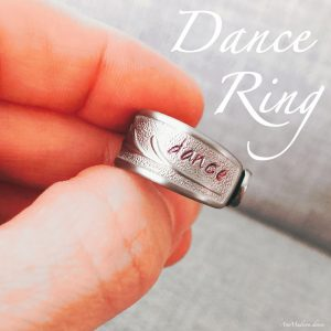 Handcrafted Dance Ring