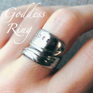 Goddess Wrap Ring (Size 7.5)