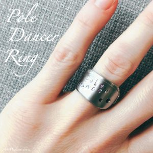 Handcrafted Pole Dancer Ring